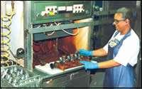 Chemical deburring process