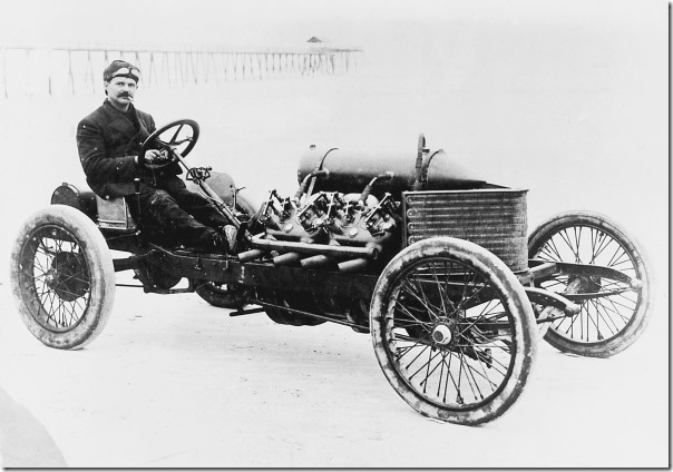 Louis Chevrolet, Weltrekord 191,5 km/h, Christie Darraq V8   (1906)