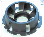 Complex molded part