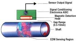 Components of the EMD torque sensor