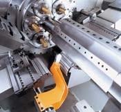Compound Slides on Gildemelister CNC Multi-Spindle Screw Machine