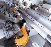 Compound Slides on Gildemelister CNC Multi-Spindle Screw Machine