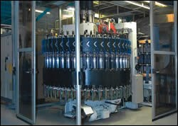 Compression molding carousel