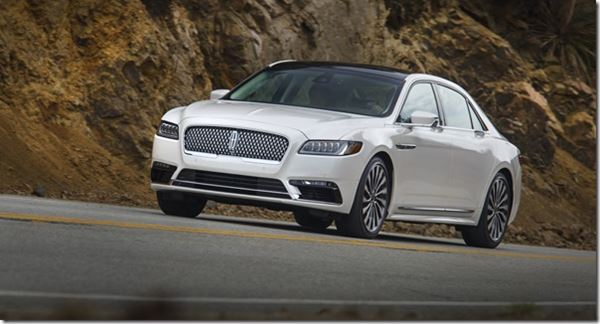 Engineering the 2017 Lincoln Continental image