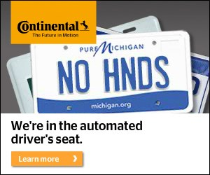 Continental automated drivers seat