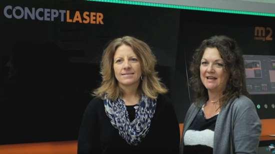 Heidi Hostetter and Alicia Sveldi