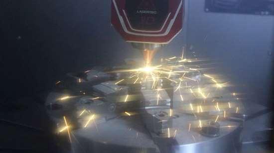 Lasertec door open or laser running