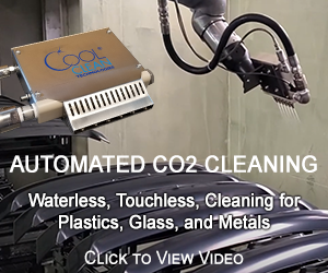 Automated CO2 Cleaning for Surface Preparation
