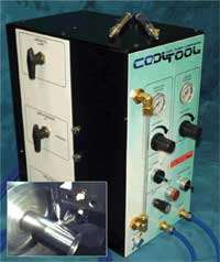 CoolTool provides selective cooling, cleaning and lubrication