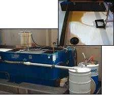 Coolant recycling unit