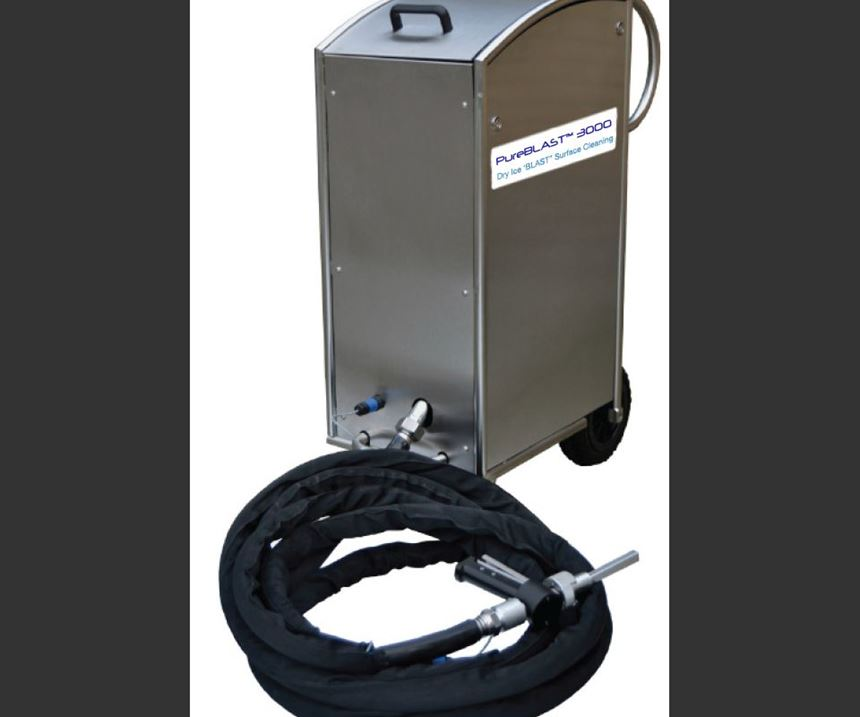 dry ice cleaning system