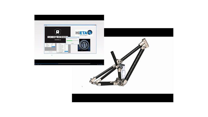 HiETA's customization and parametric modelling tool