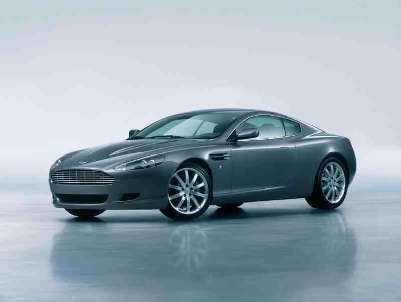 Aston Martin DB9 finished