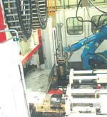 DLFT injection molding process