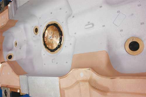 automotive fuel tank mold