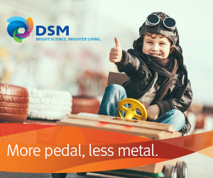 DSM more pedal, less metal