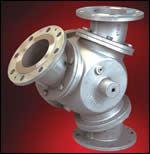 DVB diverter ball valve