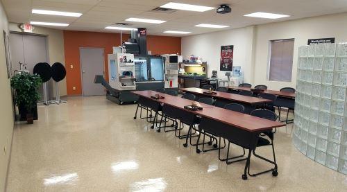 classroom in Dapra Midwest Tech Center