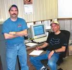 Darrin Colbart and Jim Wilson