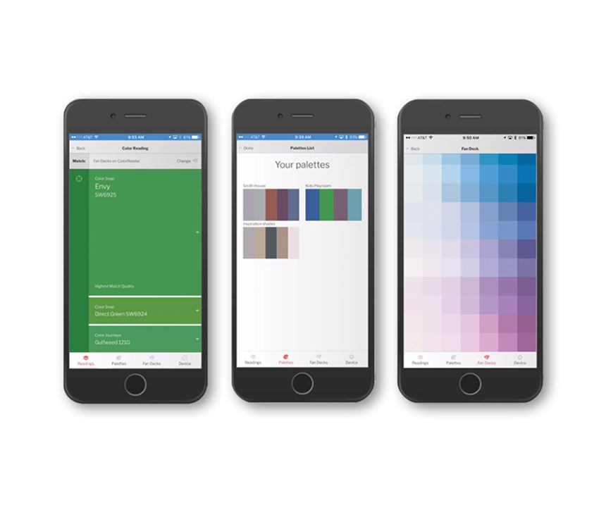 Features include device storage up to 10,000 colors and the ColoReader mobile app available for both iPhone and Android.