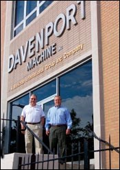 Davenport Machine devision
