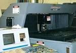 Double-pallet laser-cutting machine