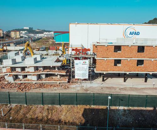 DowAksa carbon fiber building and construction