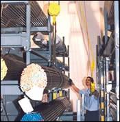 DuPage Machine Products' crane access