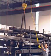 DuPage Machine Products' four roll-out storage racks