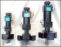 Dual Tilt L-style high-pressure mixheads