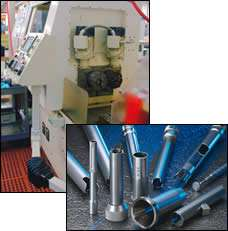 Dual-spindle gundrilling machine