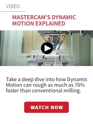 Mastercam Dynamic Motion