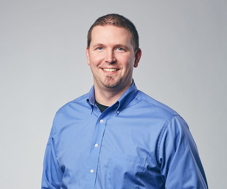 Matthew Paul, sales manager of aftermarket services.