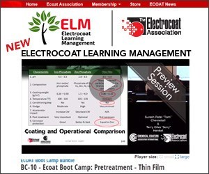 Electrocoat Learning Management