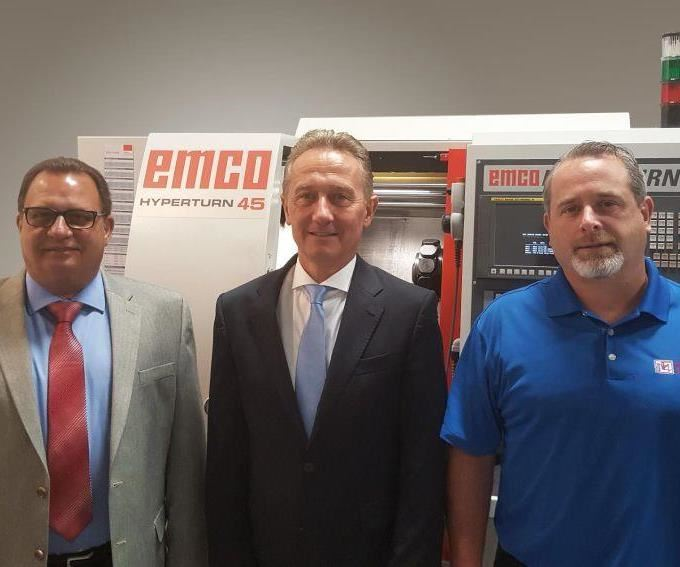 Gary Hulihan, Dr. Stefan Hansch and William Eichele