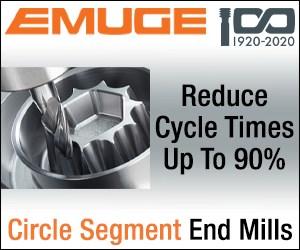 Emuge Circle Segment End Mills