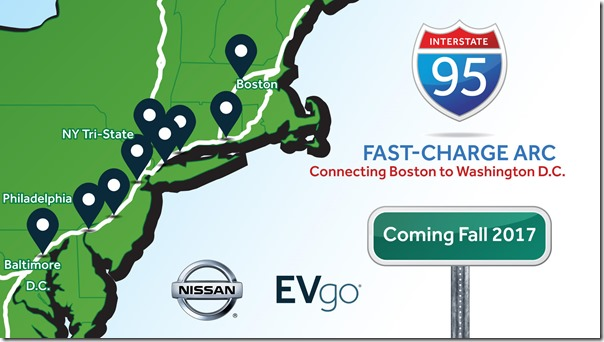 More Northeast charge stations coming for LEAF and other EVs