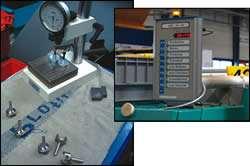 Each machine uses a status monitor