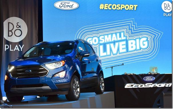 All-New Ford EcoSport debuts in LA