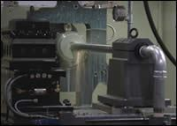 Employing the lathe with deep-hole drilling capability