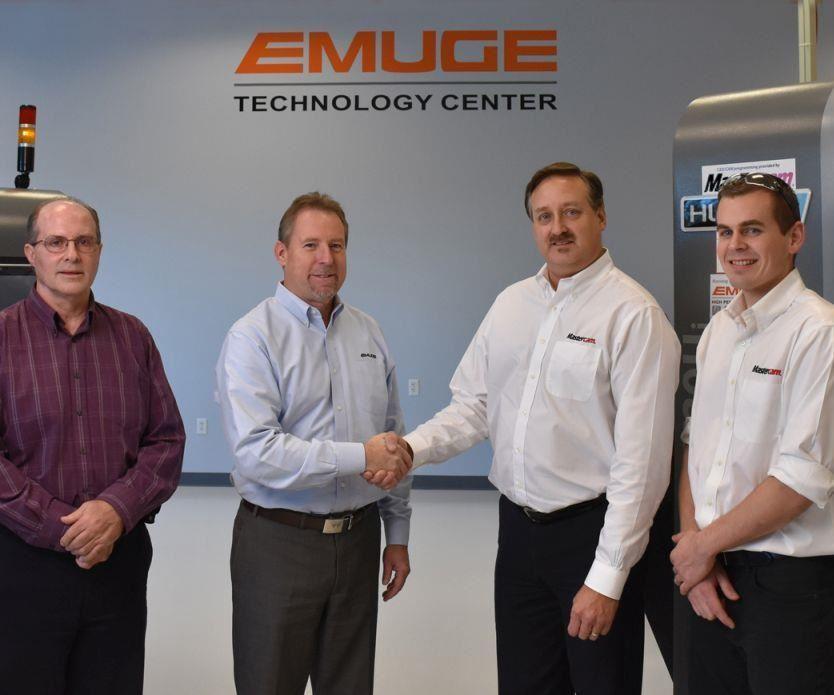 Emuge and Mastercam representatives