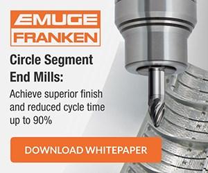Emuge Franken Circle Segment End Mills