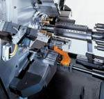 Endworking Tool Stations on CNC Multi-Spindle Screw Machine