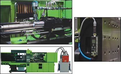 Engel 110-ton electric machine with LSR pumping system