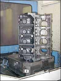 Engine block castings