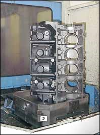 Engine block castings