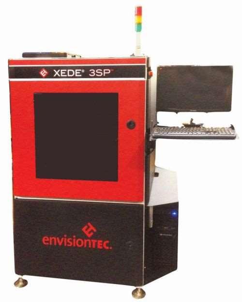 EnvisionTEC's Xede 3SP large-format 3D printer