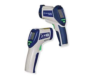 Pistol-grip infrared (IR) thermometers, available from Gardco