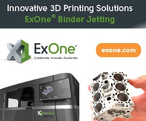 Exone Binder Jetting