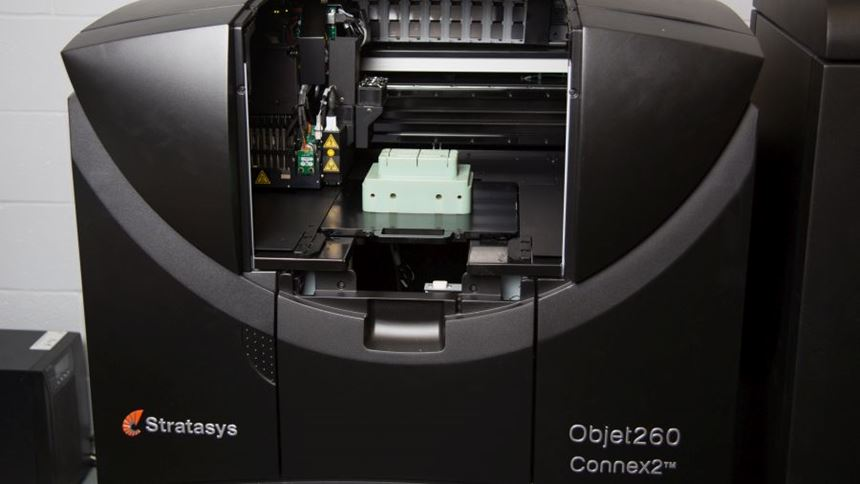 Mold tooling in Stratasys Objet260 Connex2